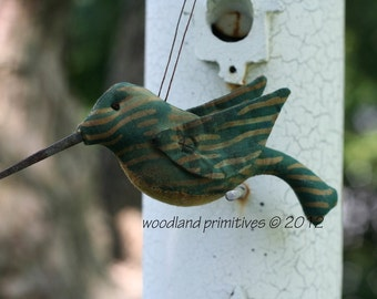 Woodland Hummingbird digital pattern...make your day fly away and your sales soar!