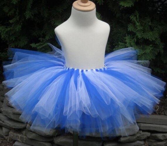 725bcd7d0b Blue and White Adult or Teen Tutu Bridesmaids | Etsy