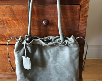 fde1497468 Vintage Leather Furla Bag   Italian Furla Shoulder Bag