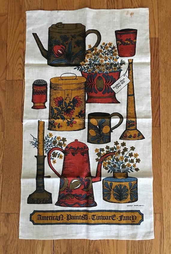 Pristine Vintage San Francisco Tea Towell