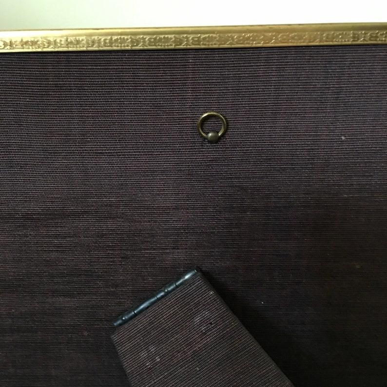 Michigan Vintage Gold Metal Standing Photograph Frame   An Overtone Original  SE Overtone Co  South Haven