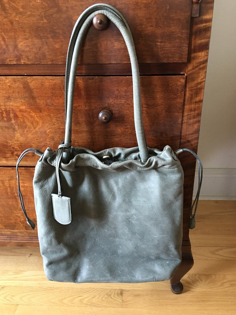 df54e68e4f Vintage Leather Furla Bag   Italian Furla Shoulder Bag
