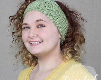 Crochet Earwarmer / Headwrap / Headband / THE BEATRICE WARMER