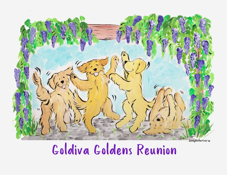 Goldiva Goldens Reunion T shirts and Longsleeves image 0