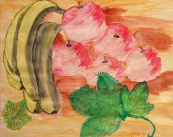 Fruit Still Life Original painting by Margo Humphries