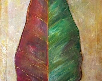 Gumleaf Original painting by Margo Humphries