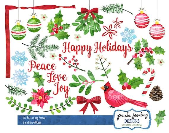 Sweet Christmas watercolor clipart Cute Santa watercolor | Etsy in 2020 |  Christmas watercolor, Watercolor clipart, Clip art