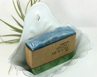 Olive Oil Soap, Spring Meadow, Vegan Friendly, smells like fresh cut grass.