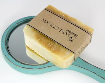 Mango Soap, Mango Tango Cold Process Handmade Vegan Friendly Soap