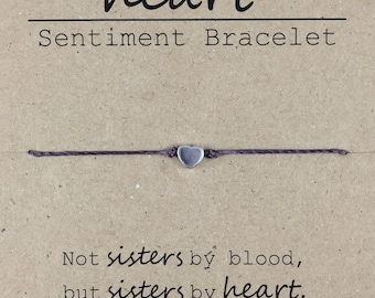 Best Friend Gift, Sister in Law Gift, Like a Sister Friendship Bracelet, Dainty Bead Bracelet, Sorority Sister Bracelet