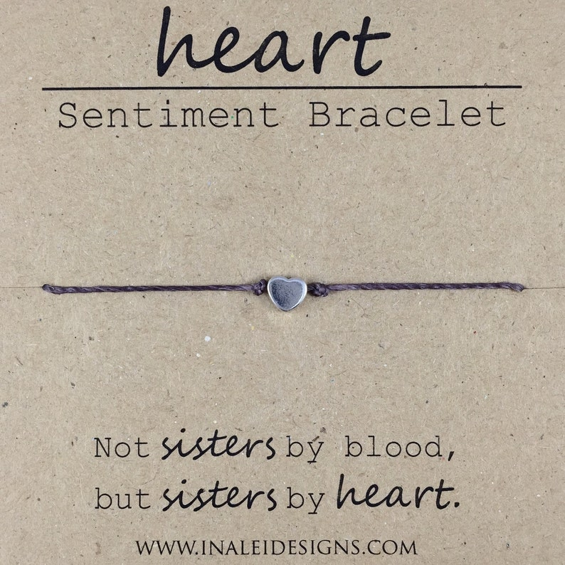 Best Friend Gift Sister in Law Gift Like a Sister Friendship image 0