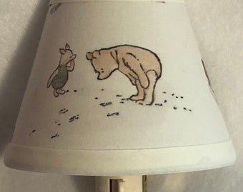 Winnie the Pooh Fabric Nursery Nightlight/Baby Gift/FREE SHIPPING