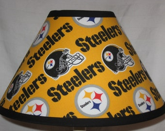 Steelers Fabric Lamp Shade/Children's Gift FREE SHIPPING