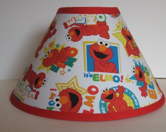 Sesame Street Elmo Children's Fabric Lamp Shade/Children's Gift FREE SHIPPING