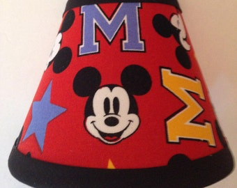 Disney Mickey Mouse Fabric Night Light/Children's GiftFREE SHIPPING