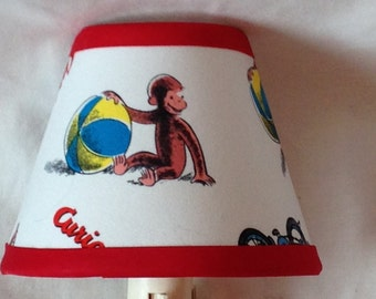 Curious George Children's Fabric Night Light/Children's GiftFREE SHIPPING