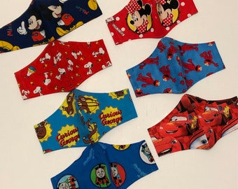Face Masks For Kids Free Shipping Made in USA