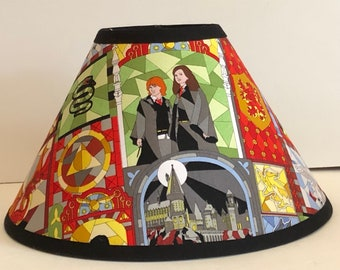Harry Potter  Fabric Children's Lamp Shade/Children's Gift FREE SHIPPING