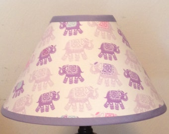 Stella Elephant Children's Fabric Lamp Shade/Baby Gift FREE SHIPPING