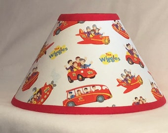The Wiggles Children's Fabric Lamp Shade/Children's Gift FREE SHIPPING
