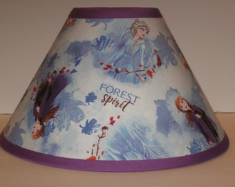 Disney Frozen Children's Fabric Lamp Shade/Children's Gift FREE SHIPPING