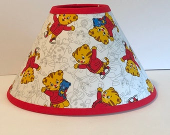 Daniel Tiger Children's Fabric Lamp Shade/Children's Gift FREE SHIPPING