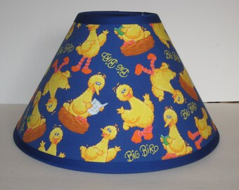 Sesame Street Big Bird Children's Fabric Lamp Shade/Children's Gift FREE SHIPPING