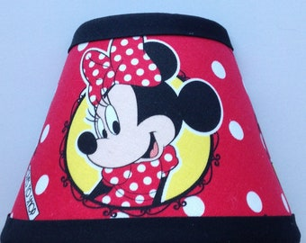 Disney Minnie Mouse Fabric Night Light/Children's Gift FREE SHIPPING