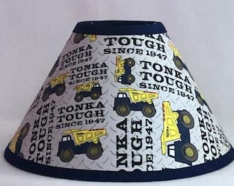 Tonka Truck Children's Fabric Lamp Shade/Children's Gift FREE SHIPPING