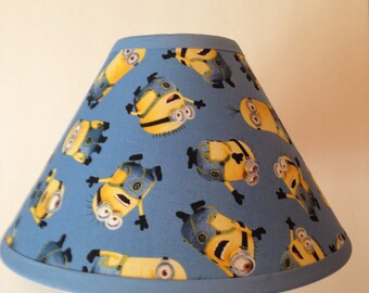 Disney Minions Children's Fabric Lamp Shade/Children's Gift FREE SHIPPING