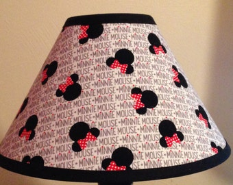 Disney Minnie Mouse Fabric Children's Lamp Shade/Children's Gift