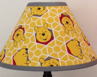 Winnie The Pooh Fabric Nursery Lamp Shade/Baby Gift FREE SHIPPING