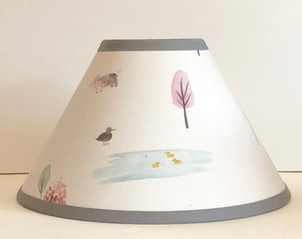 Dakota Woodland Fabric Nursery Lamp Shade/Baby Gift FREE SHIPPING