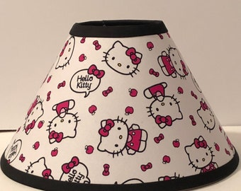 Hello Kitty Faces Children's  Fabric Lamp Shade/Children's Gift FREE SHIPPING