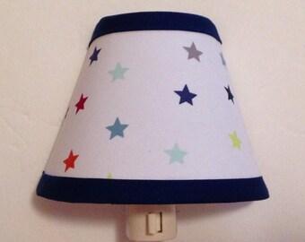 Stars Fabric Children's Night Light/Children's Gift FREE SHIPPING