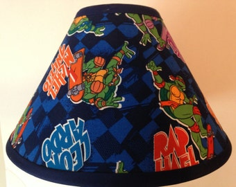 Teenage Mutant Ninja Turtles Surfing Children's Lamp Shade/Children's Gift FREE SHIPPING