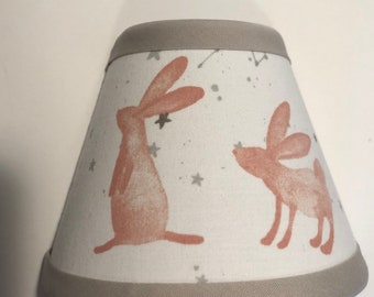 Pink Forest Bunny Girls Night Light/Children's Gift FREE SHIPPING
