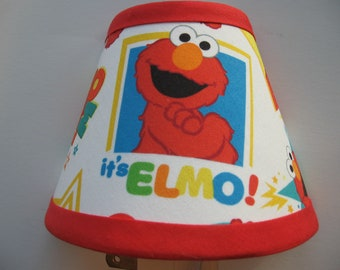 Sesame Street Elmo Fabric Night Light/Children's Gift FREE SHIPPING
