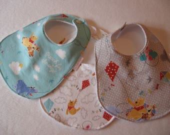 Winnie The Pooh Unisex Baby Bib/Burp Cloth Gift Set/Create Your Own Baby Shower Gift