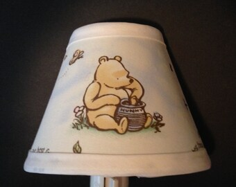 Classic Winnie the Pooh Fabric Nursery Nightlight /Baby GiftFREE SHIPPING