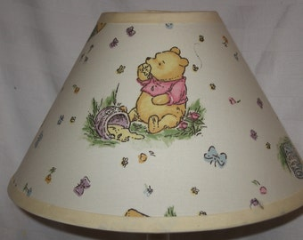 Winnie the Pooh Fabric Nursery Lamp Shade /Baby Gift FREE SHIPPING