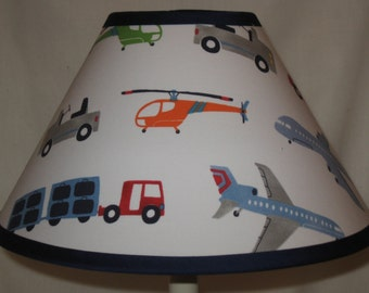 Brody Vehicles Children's Fabric Lamp Shade/Children's Gift FREE SHIPPING