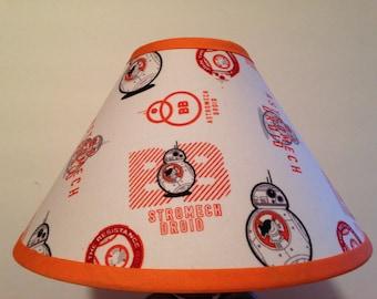 Star Wars BB-8 Fabric Children's Lamp Shade/Children's Gift FREE SHIPPING