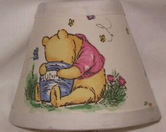 Winnie the Pooh Fabric Nursery Nightlight/Baby GiftFREE SHIPPING