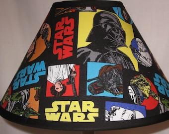 Star Wars Fabric Children's Lamp Shade/Children's Gift FREE SHIPPING