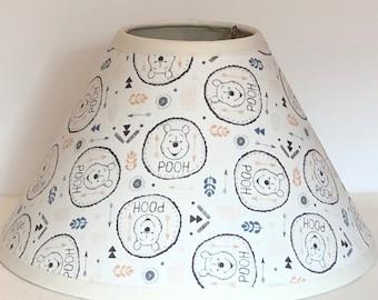 Winnie The Pooh Fabric Nursery Lamp Shade/Baby Gift FREE SHIPPING