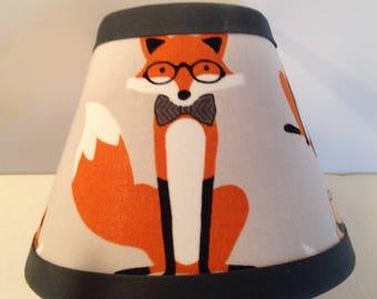 Fox Fabric Children's Night Light/Woodlands Nightlight/Woodlands Nursery/Children's Gift FREE SHIPPING