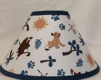 Disney Lion King Fabric Children's Nursery Lampshade/ FREE SHIPPING