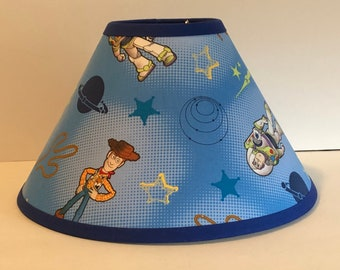 Disney Toy Story Fabric Childrens Lamp Shade/Children's Gift FREE SHIPPING