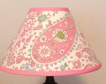 Paisley Pink Brooklyn Children's Fabric Lamp Shade/Children's Gift FREE SHIPPING